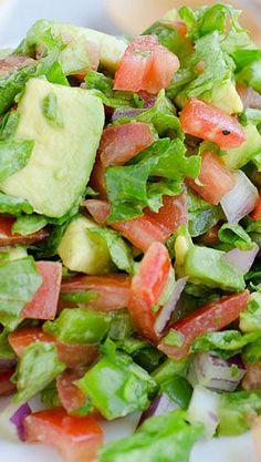 Fresh Salsa Chopped Salad