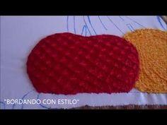 PASO A PASO PUNTADA EN JARRON - YouTube