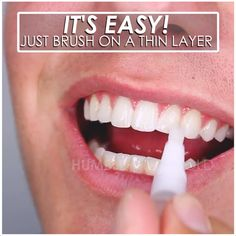 ✨Save Time & Money With This Teeth Whitening Pen! Removes 100% of Coffee, Wine, & Other Stains 😁