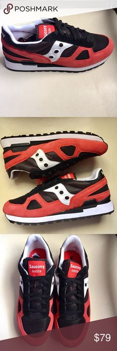 🆕 MEN's SAUCONY Shadow Original Red/BLack/Size 11 These Men's Saucony Shadow Original S2108-610 Black Red Suede Casual Sneakers are NEW WITHOUT TAGS OR BOX and have Never been worn. 100% AUTHENTIC Description Suede, Mesh and Nylon Upper Blind Eyelet Lace-Up Closure Fabric Lining Padded Collar and Tongue Cushioned EVA Footbed TPU Heel Clip Shock Absorbing EVA Midsole Rubber Outsole Width: Medium **Additional Shoelaces Included** Saucony Shoes Sneakers