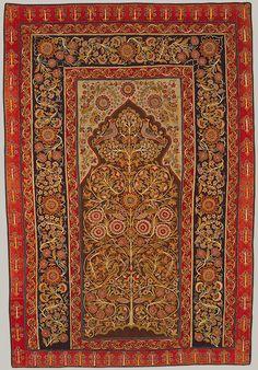 Hanging, 19th century Iran (Rasht) Wool