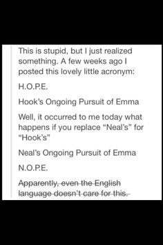 I ship Captain Swan & this is hysterical