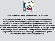 SenioriVerkko på svenska.