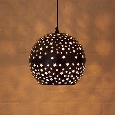 Star and Dot Pendant | The Land of Nod