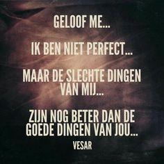 Ik ben niet perfect