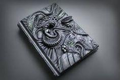 Resultado de imagen de polymer clay journal covers