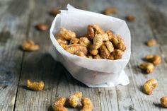 Lekkere snack: gekarameliseerde noten!
