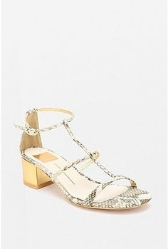 "Urban Outfitters | Dolce Vita Strappy Block Heel Sandal in ""White"" - StyleSays"
