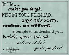 If He.......