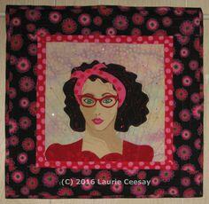 Whismical Portrait Quilt artsychickquilts.blogspot.com
