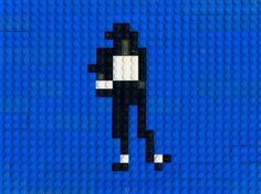 Michael is doing the Lego dance. Lego animation by Annette Jung.