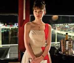 An Education. Carey Mulligan. Gorgeous party dress.
