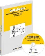 Volkslieder - Musik als Schlüssel zu Demenzkranken. Großdruckliederbuch plus Volkslied-CD zum Mitsingen. Wiebke Hoogklimmer, Altstimme. BEHR's Verlag.  http://www.behrs.de/volkslieder.html/?mmtrc=wv12001_source=wv12001