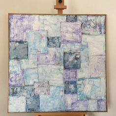Canvas Artwork, Cool Artwork, Mixed Media Artwork, Chalk Pastels, Walls, Colour, Texture, Instagram Posts, Painting