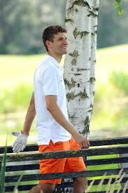 Thomas Müller at the 'Young Wings Charity Golf Cup 2014'