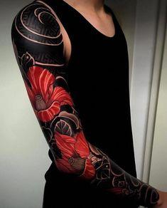 japanese tattoos for strength - Tattooideen - Irezumi Tattoos, Tribal Tattoos, Maori Tattoos, Symbols Tattoos, Nature Tattoo Sleeve, Nature Tattoos, Arm Tattoo, Japanese Tattoo Designs, Japanese Sleeve Tattoos