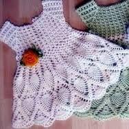 Resultado de imagen para vestido de niña a crochet
