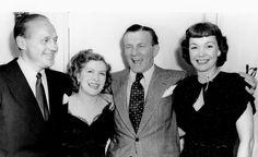 Jack Benny, Gracie Allen, George Burns & Jane Wyman ♡