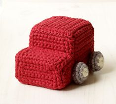 Make this soft toy for the baby or toddler in your life who just loves to play with cars and trucks. (Lion Brand Yarn)