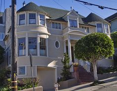 Victorian Houses of San Francisco: Mrs. Doubtfire House