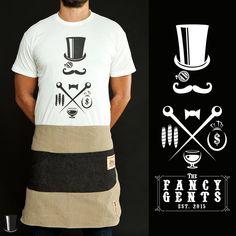 FancyGents Waiter Apron