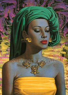 Poster Canvas Picture Art A0 A4 Tretchikoff Miss Wong
