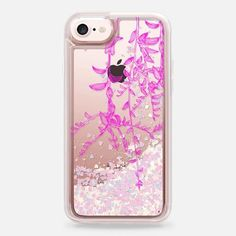 Casetify iPhone 7 Glitter case - pink botanics by Marianna Small Journal, Glitter Phone Cases, Laptop Cases, Tiny Treasures, Mobile Phone Cases, Stocking Stuffers, Tech Accessories, Iphone 7 Plus, Christmas Stockings