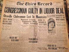 Chico Record, May 13, 1924, Chico, Butte County, California.