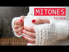 Cómo hacer unos mitones de ganchillo, Crochet mittens, My Crafts and DIY Projects