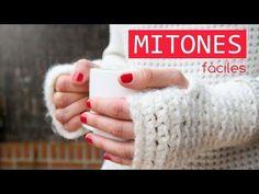 Cómo hacer unos mitones de ganchillo   Crochet mittens - YouTube