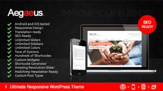 Aegaeus is a brand new Responsive Business WordPress theme. It's fresh & modern look with friendly features will make your website a standout.