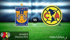 Tigres vs América, Jornada 8 del Clausura 2016 ¡En vivo por internet! - https://webadictos.com/2016/02/27/tigres-vs-america-j8-clausura-2016/?utm_source=PN&utm_medium=Pinterest&utm_campaign=PN%2Bposts