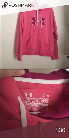 Underarmour hoodie Brand new without tags underarmour hoodie. Size large, oversized. Thermal fleece lined Under Armour Tops