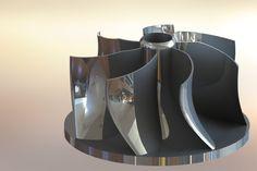 Centrifugal Pump Impeller - SOLIDWORKS - 3D CAD model - GrabCAD