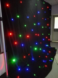 RGB star curtain