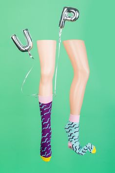 Squiggle socks by Odd Pears / Image by Mathery Studio / Shop now: www.oddpears.com/shop