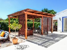 Gazebo with nice shade to relax at Onda Vicentina b&b Gazebo, Pergola, Algarve, B & B, Simple Designs, Portugal, Relax, Shades, Outdoor Structures