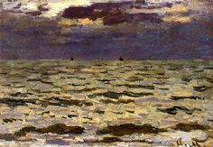 Seascape Claude Oscar Monet - 1866 by BoFransson, via Flickr
