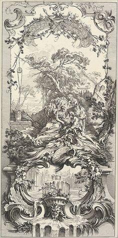 Triomphe de Pomone (Triumph of Pomona) Charles Nicolas Cochin II (French, Paris 1715–1790 Paris) Artist: After François Boucher (Fr...