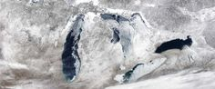 The Great Lakes Are Still Frozen And That's Actually A Big Deal