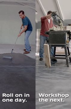 Upgrade your garage with the toughest floors out there. This DIY project is quick and easy! Walk on in 8-10 hours and drive on in 24 hours. From the easy application to durable protection that's 20X stronger than epoxy, you can't go wrong with RockSolid's garage floor coatings.