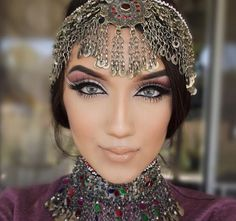 #afghan #jewelry #headpiece                                                                                                                                                                                 More