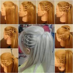 HD wallpapers how to make new hairstyles for long hair at home