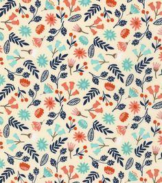 Keepsake Calico™  Cotton Fabric-Tiny Flowers