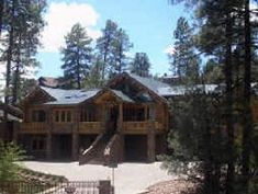 Located in Payson, Arizona, the Log Mahal was the creation of Fred Wagenhals. The log home is over 16,000 sq. ft. and possibly the largest log cabin ever made