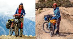 Bikepacking setup or classic Ortlieb panniers for your bicycle trip around the world?