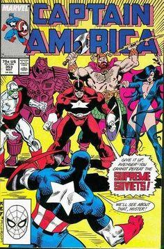 Captain America #353, 1989