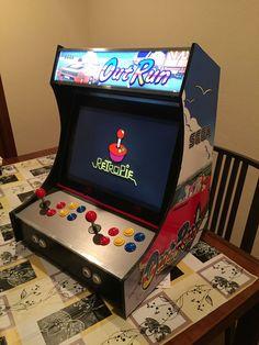 2-Player Bartop Arcade Machine (Powered by Pi) - 10