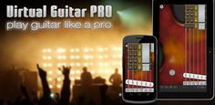 Virtual Guitar - Another great virtual instrument app with a fun play along feature & a database of popular pieces.