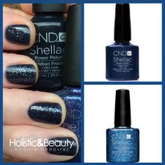 Starry Sapphire layered over Indigo Frock made a perfect match for a clients gorgeous ballgown this week  http://holisticandbeautytreatments.co.uk/shellac-manicurepedicure/